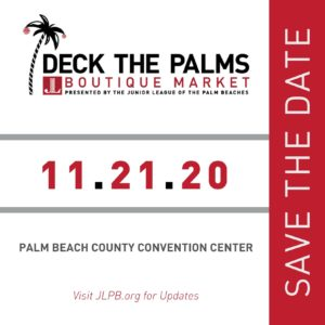 2020 Deck the Palms Save the Date