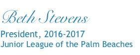 Beth Stevens President Signature