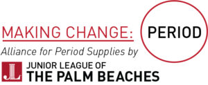 The Alliance for Period Supplies by Junior League of the Palm Beaches