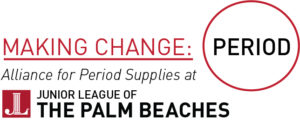 Period Supply at Junior League of the Palm Beaches